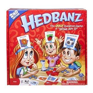 🐳 現貨 美國桌遊 Hedbanz 猜猜我是誰 兒童版 英文 💗小東西拍賣💗