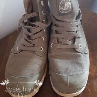 L'ORIGINALE PALLADIUM Grey Boots Size 42 #EOFYSALE