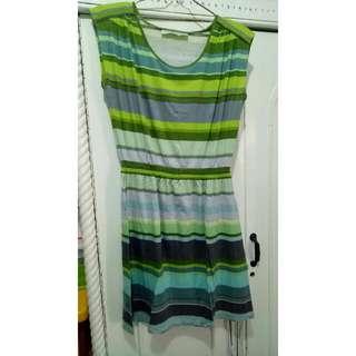 Short Dress Buntung Green