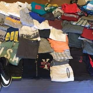 BUNDLE OF BOYS CLOTHES SIZE 8-10