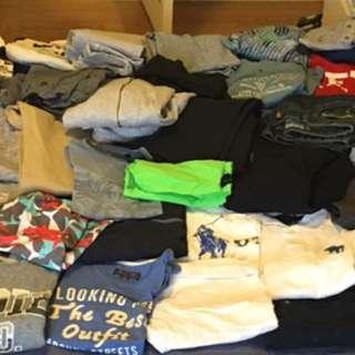 BUNDLE OF SIZE 6-8 BOYS CLOTHES