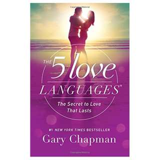 (New) The 5 Love Languages: The Secret to Love that Lasts, by Gary Chapman [Ready Stock]