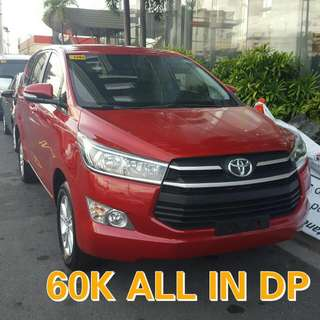 60K ALL IN - BNEW TOYOTA INNOVA