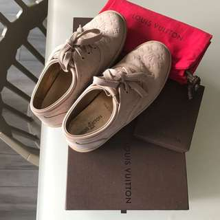 Louis Vuitton Kids Suede Shoes