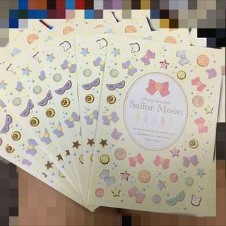 Sailor Moon 🌙 美少女戰士 _ 包裝卡紙連A5 File