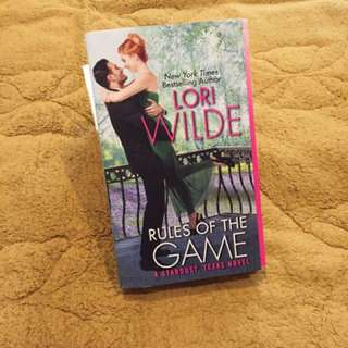 Novel romance import preloved/second/bekas rules of the game