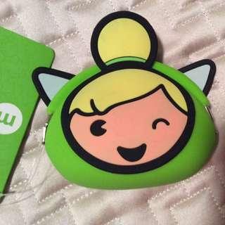 🐳美國 迪士尼 Disney 小精靈零錢包 Twinkle Bell 💗💗小東西拍賣💗💗