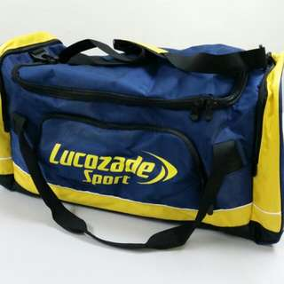 Lucozade Large Sports Duffel Bag