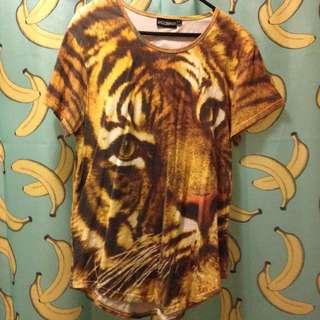 Pulpkitchen Tiger Shirt