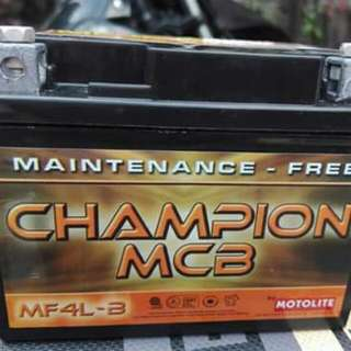 Motolite Champion Battery