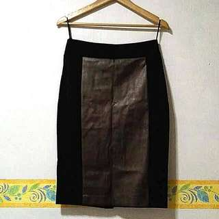 Marks & Spencers Pencil Cut Skirt