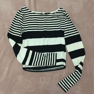 Sportsgirl Striped Long Sleeve