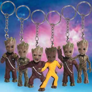 Guardians Of The Galaxy 2 Groot Keychain