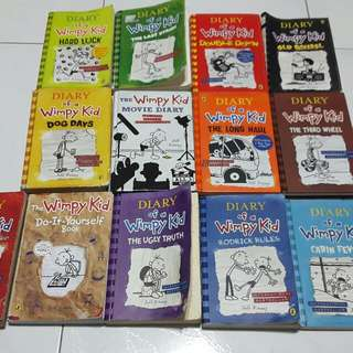 Diary Of A Wimpy Kid 13 Books (All)