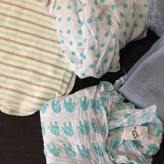 Baby Swaddles And Muslim Wraps