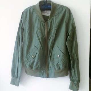 全新軍綠外套