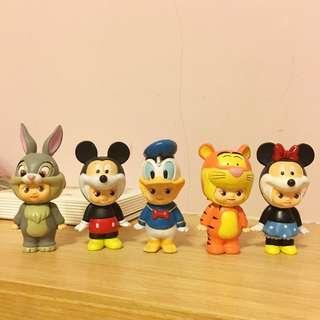 迪士尼xQ比娃娃 公仔