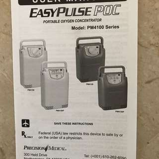 Oxygen Generator (Portable)