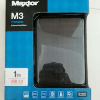 MAXTOR M3 PORTABLE HDD