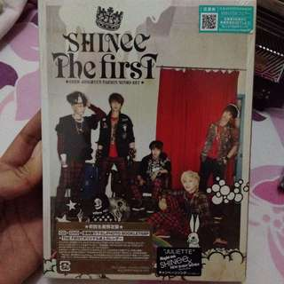 SHINee - The First (1st Japan Album)
