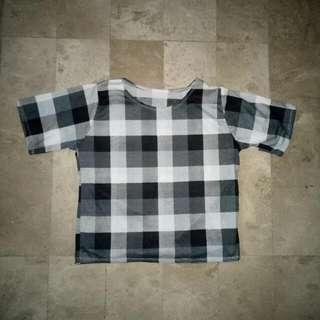 Plain checkered Shirt