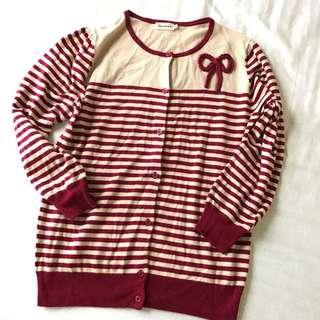 日本品牌 Bon Mercerie 針織 外套 上衣