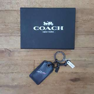 [ORIGINAL] Coach Leather Key Chain/Bottle Opener