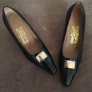 Salvatore Ferragamo Patent Leather Shoes