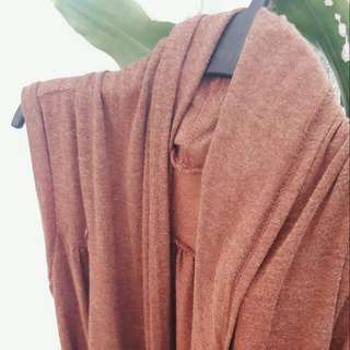 Burnt Orange Cardigan