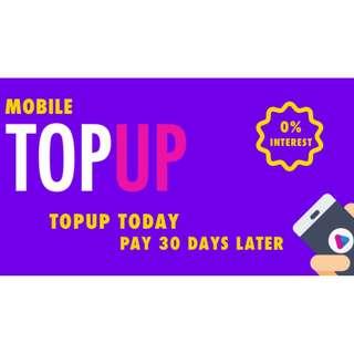 Singtel/Starhub/M1 Mobile Top Up