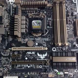 Asus Gryphon Z87 Lga1150 Matx Mobo