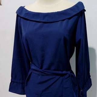 Blouse In Dongker