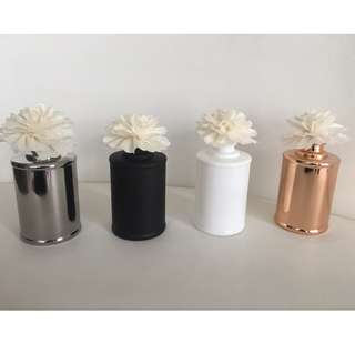 200ml  FLOWER SCENTED DIFFUSER - VARIOUS COLOURS
