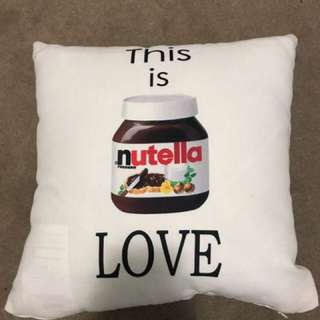 Nutella Cushion