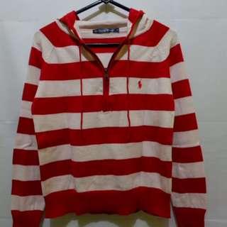[Turun Harga] Polo Sweater with Hoodie