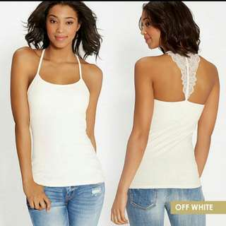 NEW! Tank Top Maurices Warna off white