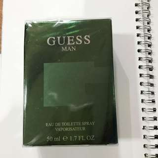 Guess Man Perfume (green)