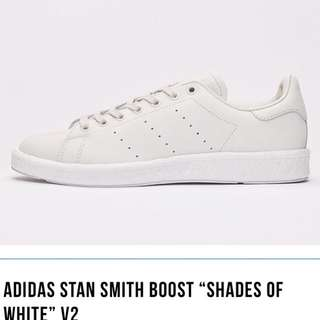 """Adidas Stan Smith Boost """"Shades Of White"""" V2"""