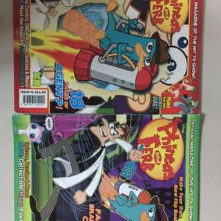 Phineas And Ferb Magazine