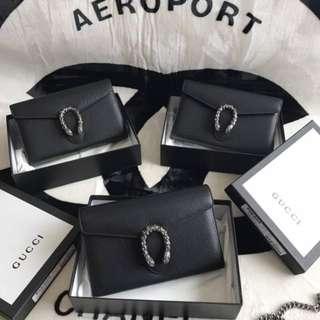 Gucci Dionysus Chain Clutch Bag