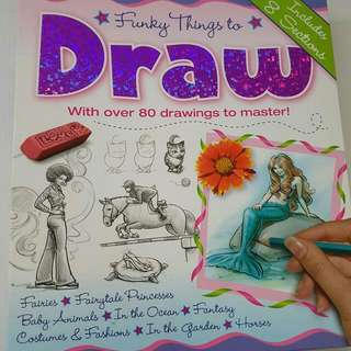 Funky Book That Teach U How To Draw