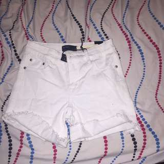 Plain White Shorts