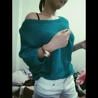 Knitted Green Top😊