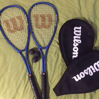 Wilson Squash Rackets