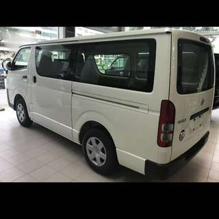 Brand New Hiace Economy Auto Goods Van For Sale Or Long Term Rental Leasing.