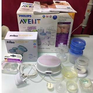Bundle Clearance ( Avent pump and baby cot)
