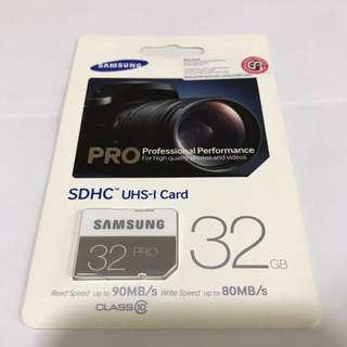 Samsung PRO SDHC UHS-I 32GB