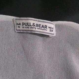 Pull & Bear Dress M, Broken White