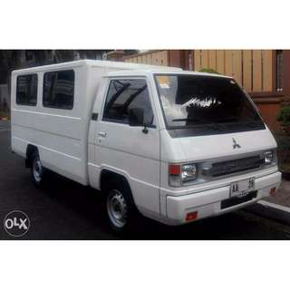 L300 FOR RENT FB VAN