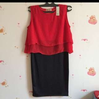 Dress Sifon Red